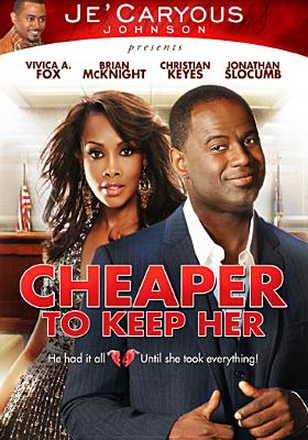 CHEAPER TO KEEP HER BY MCKNIGHT,BRIAN (DVD)